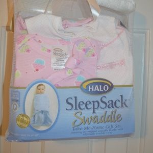 New Halo Sleep Sack Swaddler set